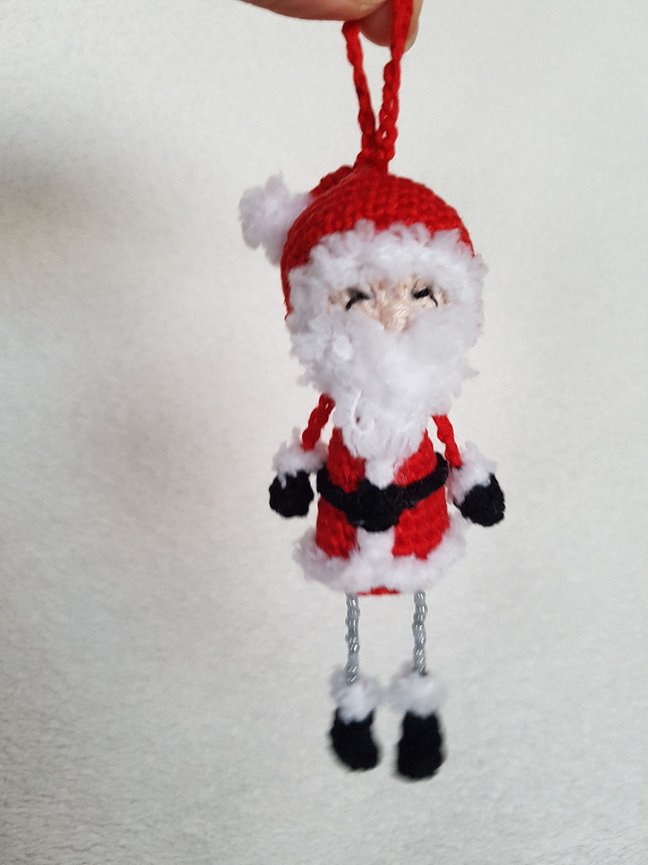Christmasbaumler Weihnachtsmann (Dat Yarn's Design)