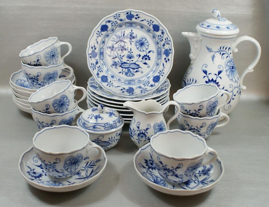 Kaffeeservice von Meissen - Dekor: Zwiebelmuster