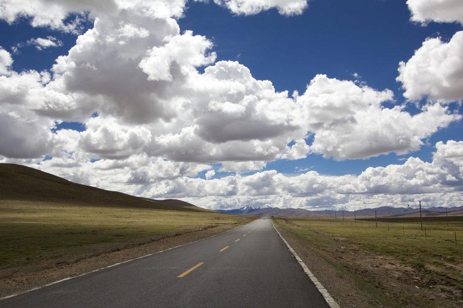 Straße in Landschaft