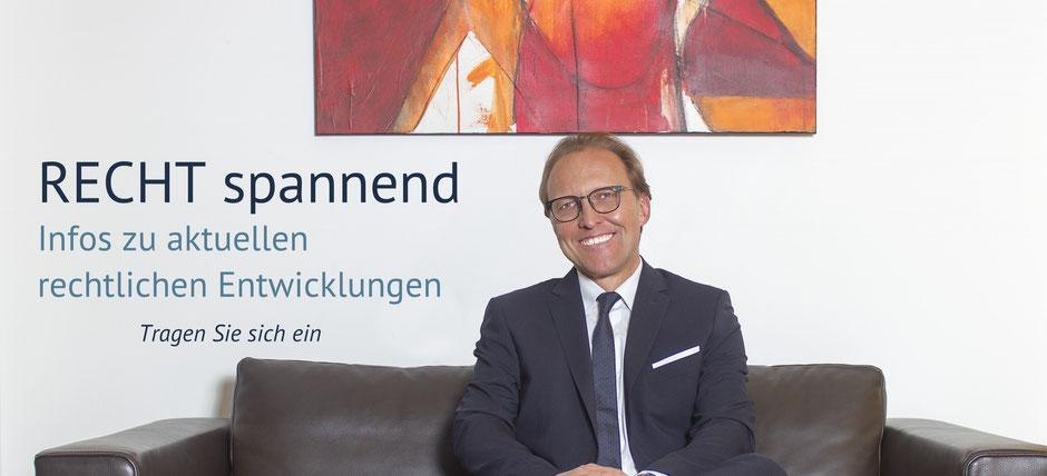 Newsletter Anwalt Bregenz, Vorarlberg - Dr. Henrik Gunz
