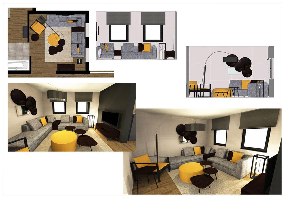 Aménagement d'une maison dans le Brabant Wallon   Marie'S Home décoratrice d'intérieur www.marieshome.be