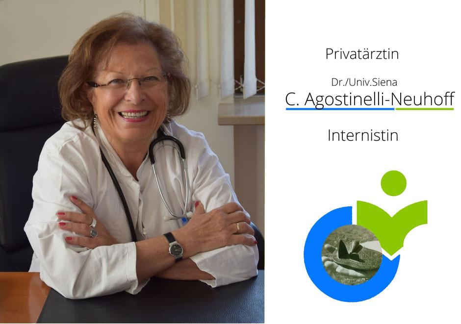 Internistin Carla Agostinelli Neuhoff