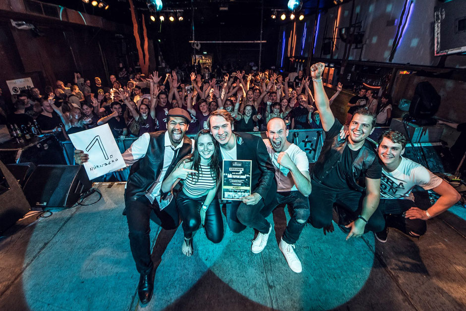 Franken-Sieger beim weltweitgrößten Bandcontest Emergenza