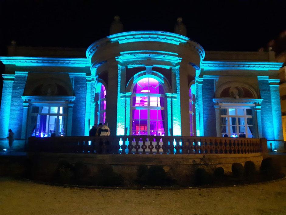 MC Sono éclairage DEAUVILLE Villa Le Cercle