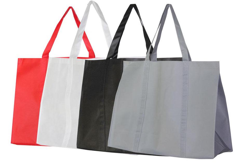 XXL Tasche rot weiß schwarz oder grau mit langem Griff Henkel diese Mehrwegtasche ist stabil und wieder wiederverwendbar
