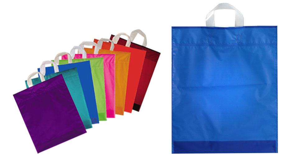 Schlaufentaschen mit Schlaufengriff in verschiedenen Farben Trend Color wie violett blau grün pink orange braun kastanie aquamarine und rot