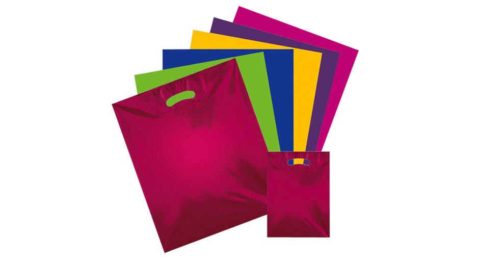 Folientaschen farbig in verschiedenen Größen sofort lieferbar