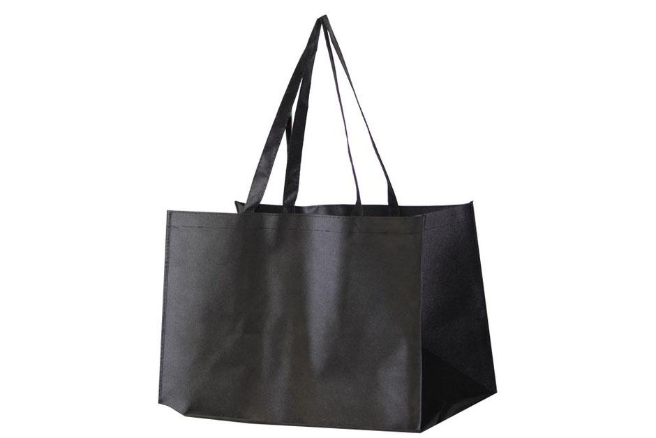 Mehrwegtasche Trage- Tasche Joy in der Größe 55 x 33 x 30 cm in schwarz mit langem Griff Henkel in schwarz günstig kaufen