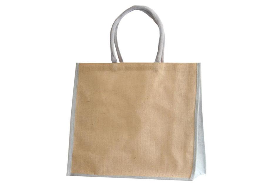 Jute Tasche grau und graue Tragetaschen aus Jute kaufen