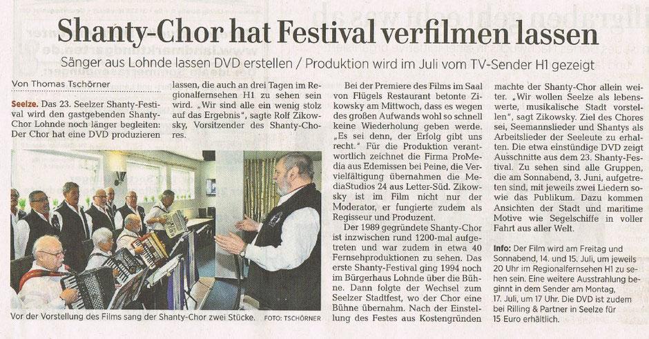 (c) HAZ Leine-Zeitung, 29.06.2017