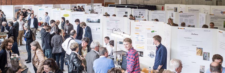 Nationaler Wettbewerb von Schweizer Jugend forscht in der SAMD in Davos [Reichsteiner Fotografie]