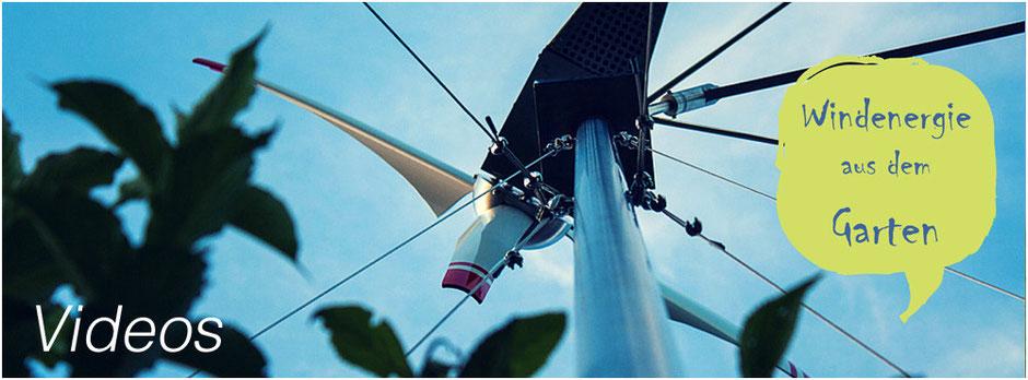 Vorschau Video des sich drehenden Windrades | meinwindrad.ch