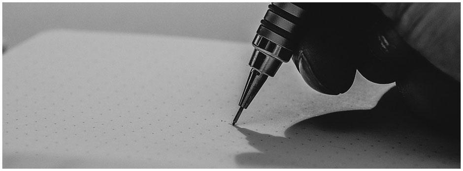 Notizen machen | präzise zeichnen Bleistiftnotizen | domisiwindrad