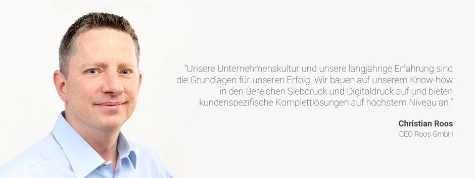Christian Roos – Geschaeftsfuehrer der Roos GmbH in Augsburg