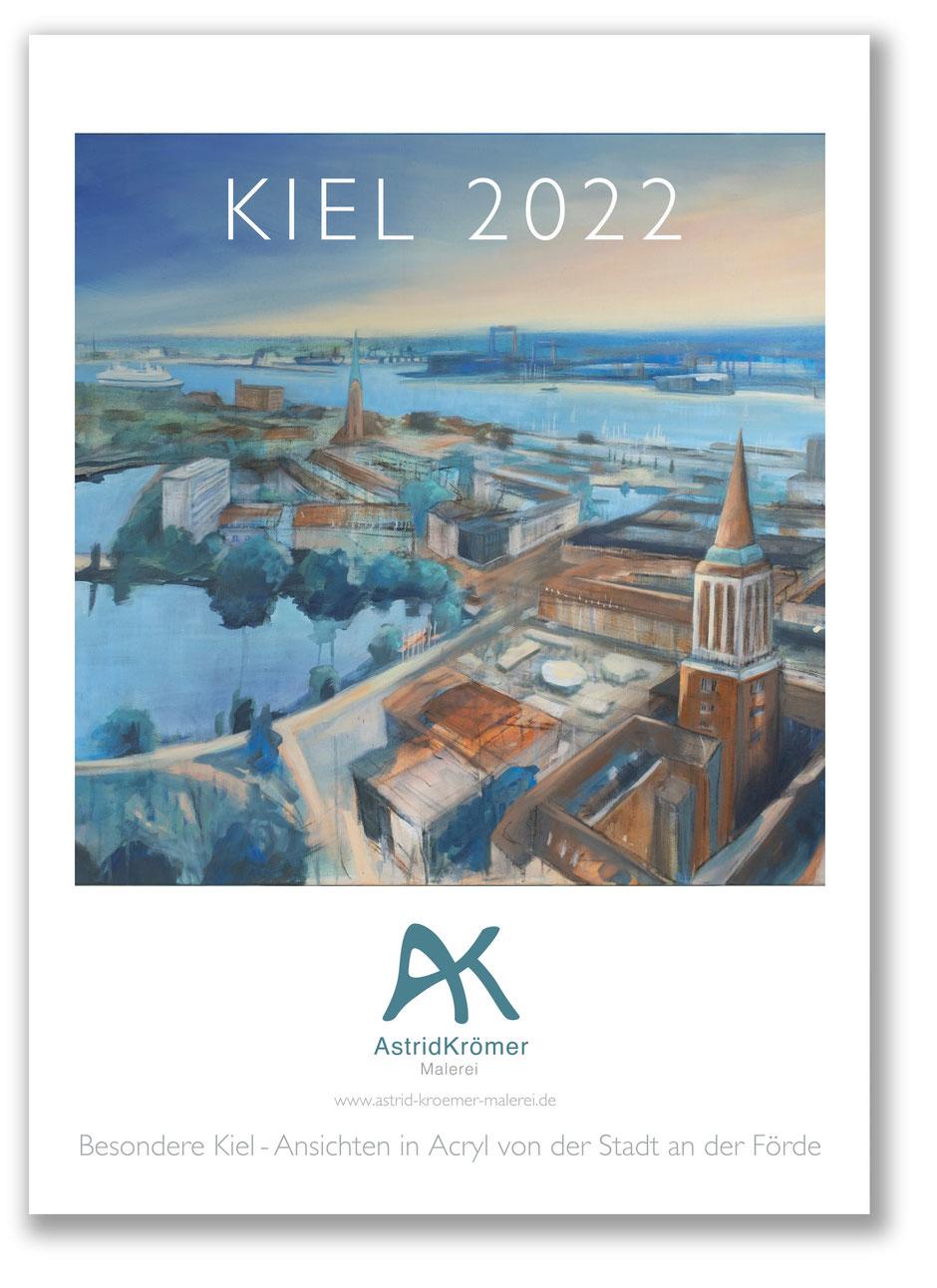 Astrid Krömer, Besondere Kiel -Ansichten von der Stadt an dr Förde, www.astrid-kroemer-malerei.de