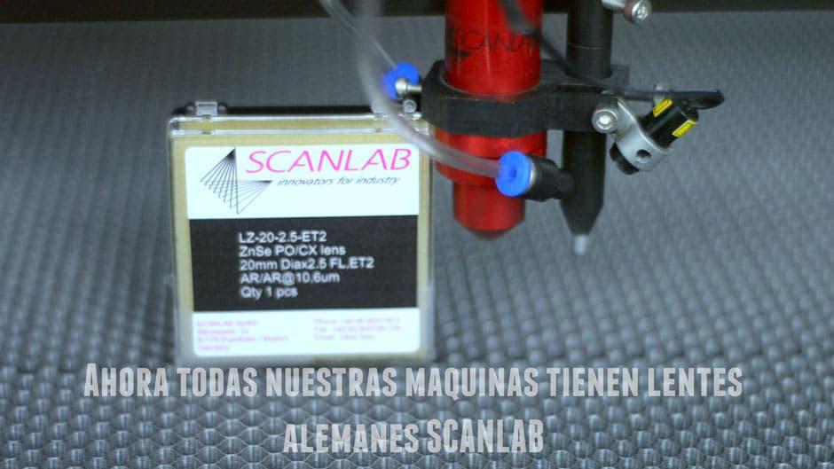 focus lens aleman para maquina laser