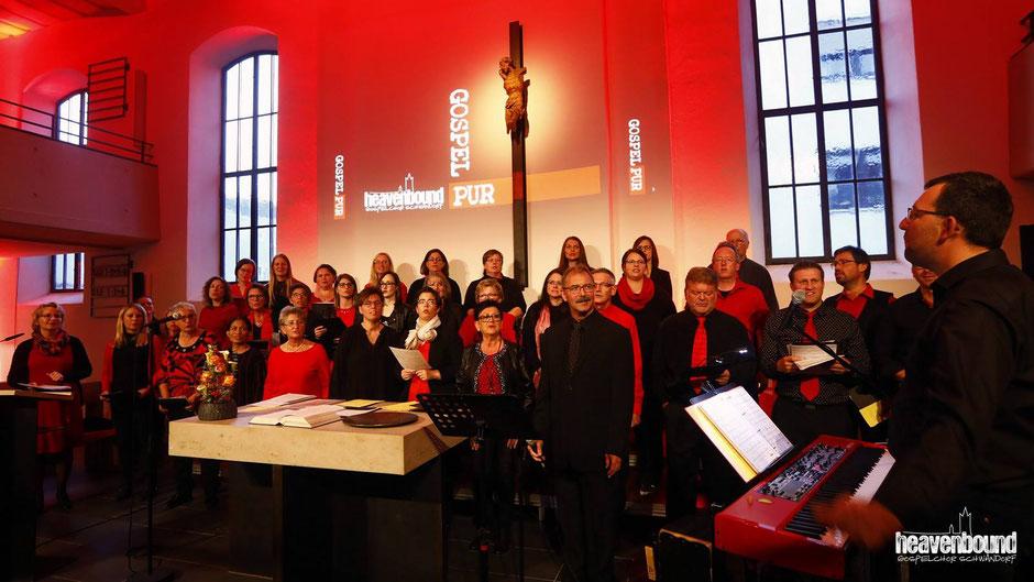"""""""Heavenbound""""-Chor in der Erlöserkirche Schwandorf"""