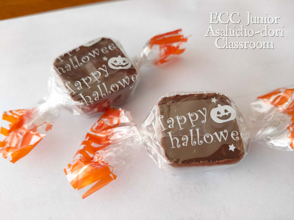 ハロウィーンパッケージのファミリーチョコレート