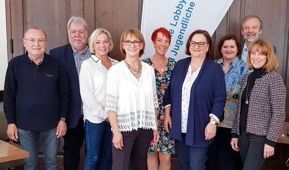 Der neu gewählte Vorstand des Kinderschutzbund OV/KV Amberg-Sulzbach