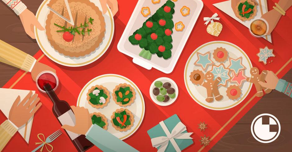 Evitar engordar en Navidad - Farmacia San Mateo Alicante