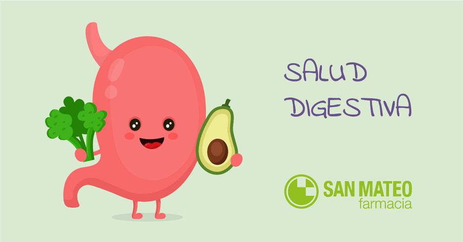 ¿Cuidas tu salud digestiva? - Farmacia San Mateo Alicante