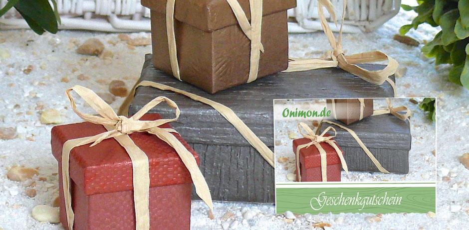 Wähle unten dein Geschenkgutscheinbetrag selber aus und mache deinen liebsten eine unvergessliche Freude.