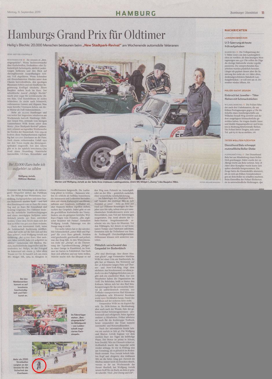 Hamburger Abendblatt Motorevival 2019