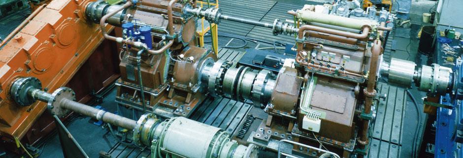 Getriebetechnik Dessau, Prüfstand Schiffsgetriebe