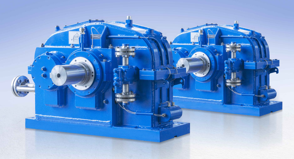 Turbo-Stirnradgetriebe, Getriebetechnik Dessau