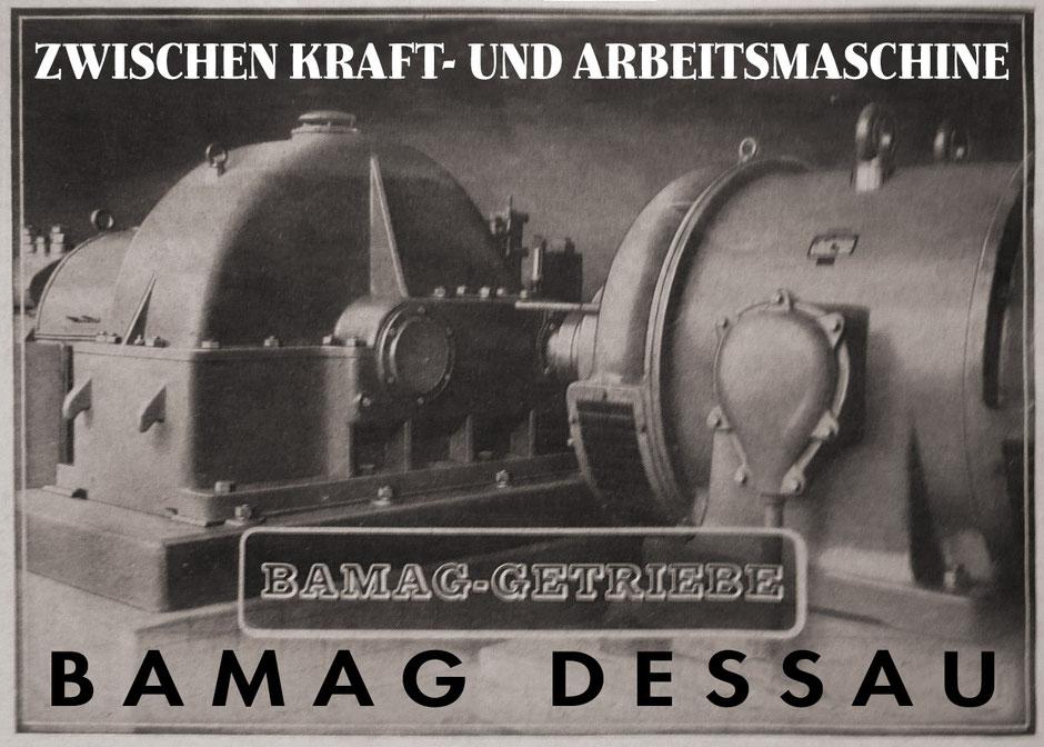 BAMAG Dessau, Getriebebau seit 1872