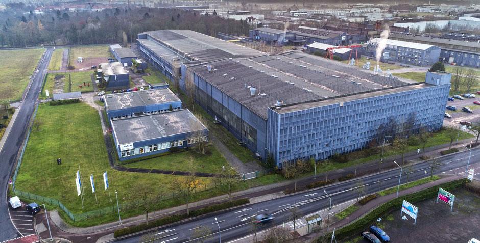 Luftbild Getriebetechnik Dessau
