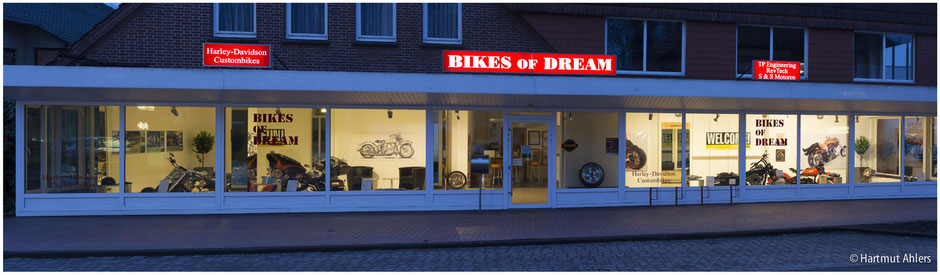 Shopansicht Bikes of Dream
