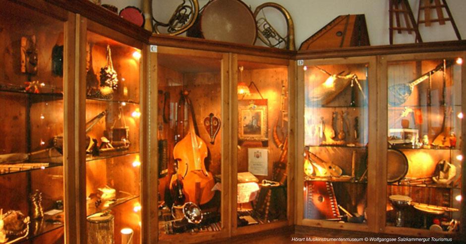 Schlechtwetterprogramm, Museum, Musikinstrumentenmuseum Wolfgangsee, Salzburgerland, Salzkammergut, St. Gilgen