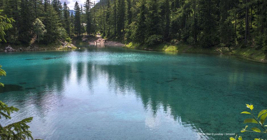 Grüner See in der Hochschwab-Region, Wandern & Einkehren in der Obersteiermark