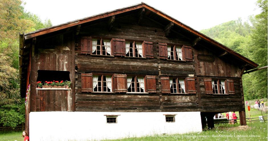 Bregenzerwaldhaus, Steiermark, Stübing, Österreichisches Freilichtmuseum, Graz, Schönes Gebäude, Ausflugstipp, Einkehren, Gruppen, Kinder
