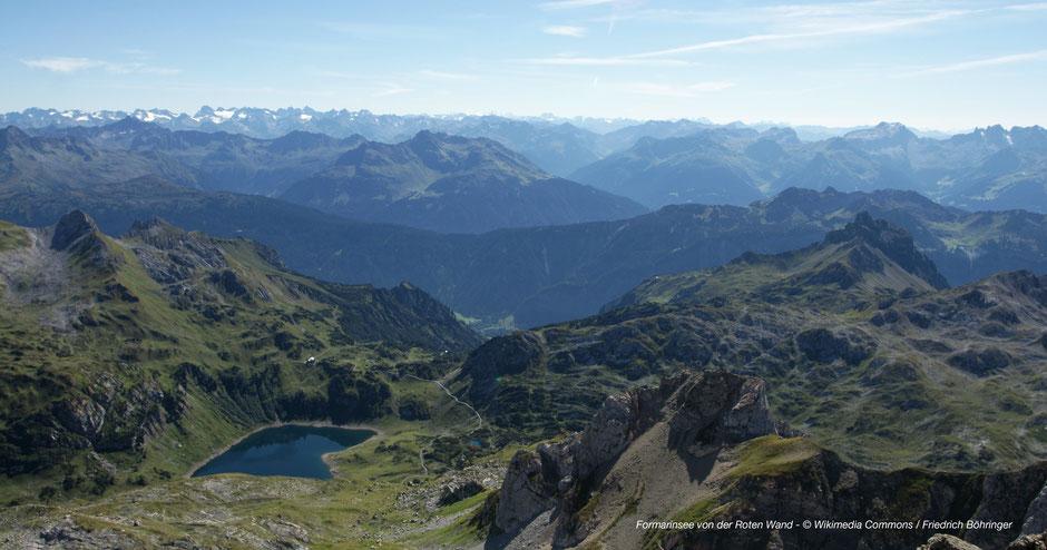 Wandern am Formarinsee & Freiburger Hütte - Hiking at Formarinsee-Arlberg