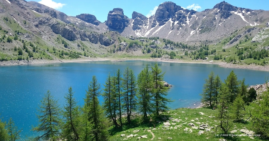 Wandern zum Lac d'Allos - Hiking around Lac d'Allos