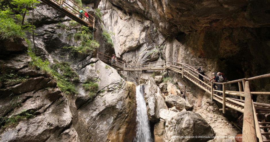 Almenland, Ausflugsziel, Schlucht, Wallfahrtsort, Steiermark, Hochsteiermark, Lurgrotte, Gleinalm, Wandern, Einkehren, Wandertipp