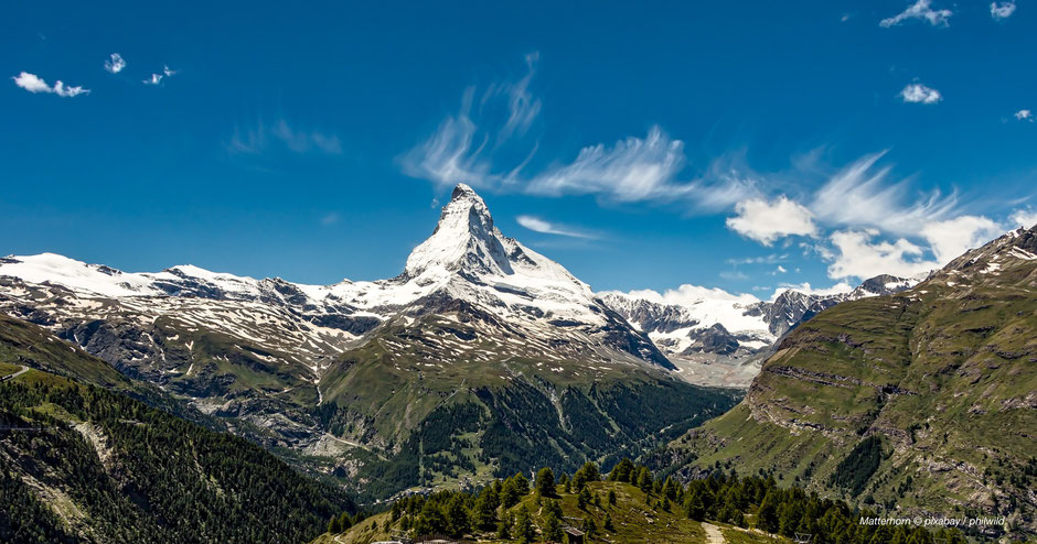 Wandern rund um Zermatt - Hiking at Sunnegga & Matterhorn-Views