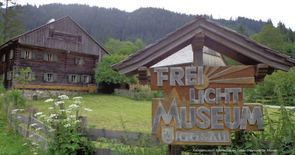 Freilichtmuseum Hallstatt, Freilichtmuseum Gosau, Gosausee, Gebäude, Hofformen, Museum UNESCO Welterberegion, Open Air Museum