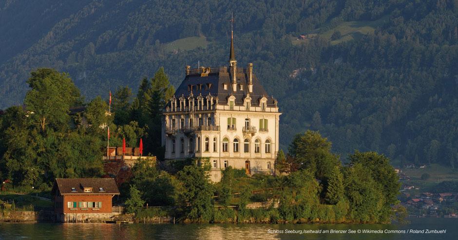 Schloss Seeburg, Brienzer See, Berner Oberland, Fotospots, Tipps, Juwele
