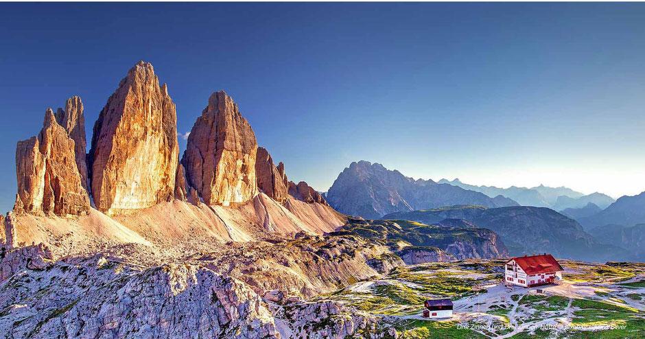 Wandern rund um die Drei Zinnen - Hiking around Tre Cime-Dolomites