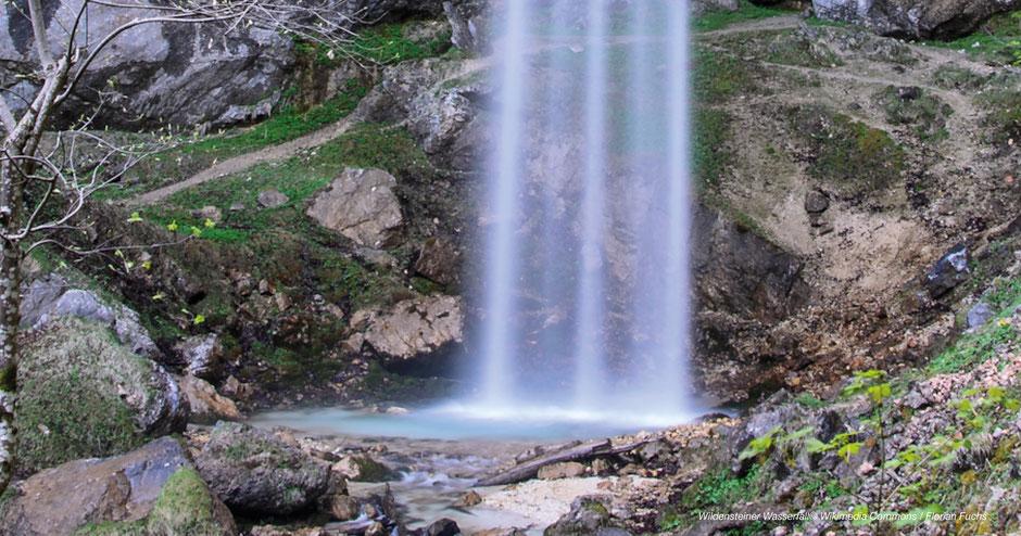 Wildensteiner Wasserfall, Einkehr in der Jausenstation