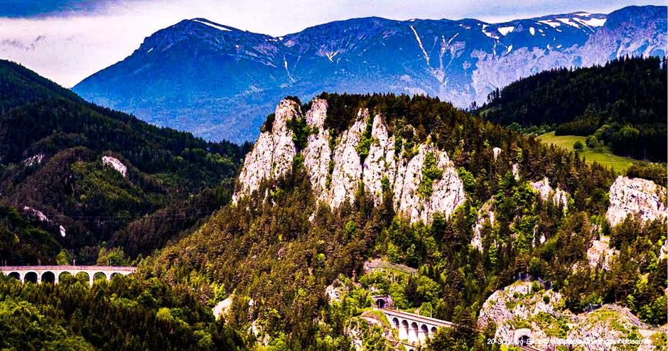 Semmering, Aussichtspunkt, Niederösterreich, UNESCO Welterbe
