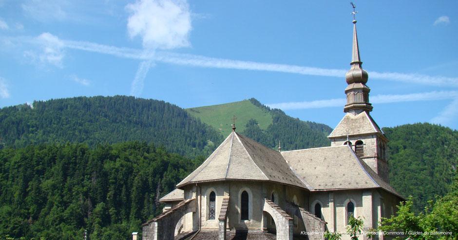 Abondance, Alpenkloster, Frankreich Alpen Kloster, Käse aus Kloster, Fromage Abbey, Kloster Hochsavoyen, Ehemaliges Kloster Abondance