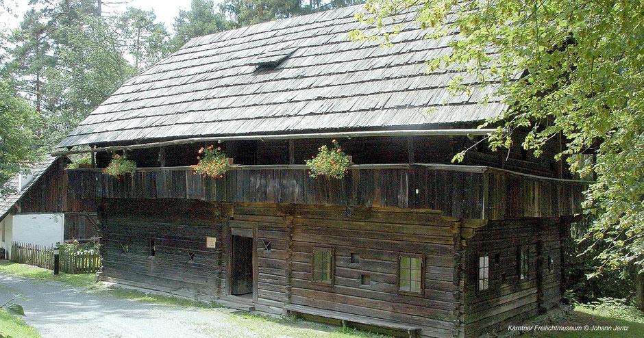 Maria Saal, Freilichtmuseum Kärnten, Höfemuseum bei Klagenfurt, Magdalensberg, Hofformen Kärnten, Bauernhöfe Kärnten