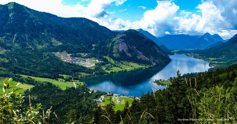 Wandern im Ausseer Land, am Grundlsee, am Altausseer See, Toplitzsee & Tauplitzseen - Hiking around Bad Aussee