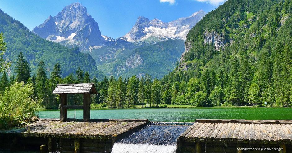 Schiederweiher, Großer Priel, Totes Gebirge, Idylle, Stodertal, Naturjuwel, Alpenjuwele, Alpenjuwel, Juwel, Bergidylle, Bergjuwel
