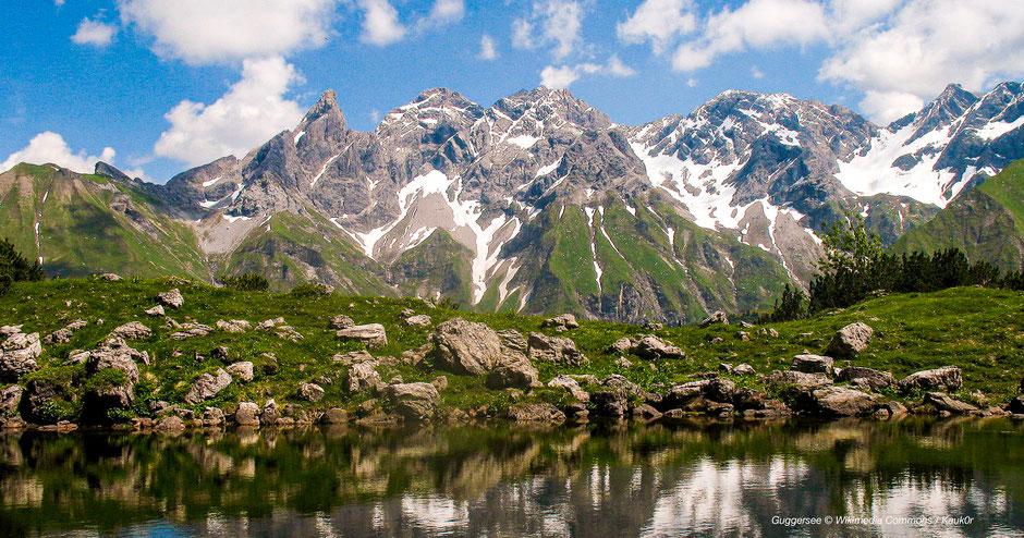 Guggersee, Ruhe, ruhig, Bergseen Allgäu, Bergseen Bayern, Mountainlakes Bavaria, Die schönsten Bergseen im Allgäu, die schönsten Bergseen der Alpen, die schönsten Bergseen Deutschlands, die schönsten Bergseen Bayerns, türkiser Bergsee, Bergsee mit Insel