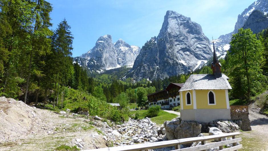 Hinterbärenbad im Kaisertal bei Kufstein